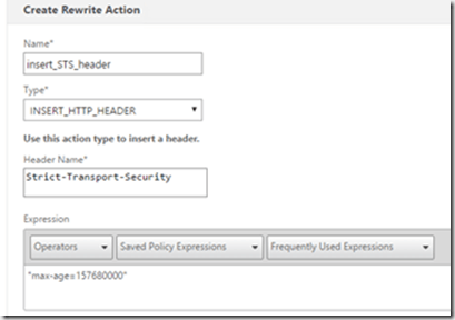 Security settings–NetScaler Gateway | Marius Sandbu
