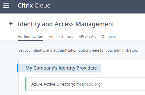 So you are considering Citrix Cloud? What do you need to