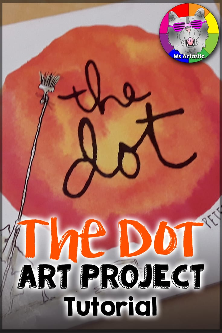 """Of all the Art Picture books, """"The Dot"""" by Peter H. Reynolds is my absolute favorite. Not only does it teach the creative process and how art evolves through creation, but it teaches the reader about Growth Mindset and perception. The teacher in the story teaches Vashti about not giving up and just starting with a mark to see where it takes her (and what a journey Vashti goes on!)."""