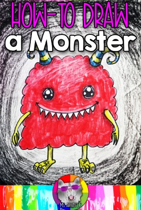 Explore the Element of Art: Value with your favorite art mediums, such as felt markers and crayons, with this Monster Art Lesson Drawing Tutorial. This is an easy to-do, hands on activity that kids can do at home or in the classroom to help them learn and understand the element of art: value. Let's make art!