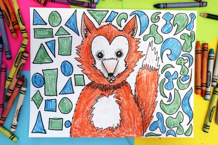 Explore creating art focused on the Element of Art: Shape that features drawing a Red Fox, perfect for Homeschooling or Distance Learning or learning in your Classroom. This is a free, easy to do, quick art lesson that focuses on teaching the Element of Art Shape to kids. This is an easy to implement idea for kids to do as an art project at home or in the classroom. Perfect for kids from grades 2 to 5! Scroll through to follow the step-by-step, or scroll to the bottom to find the full YouTube Video tutorial embedded in this post!