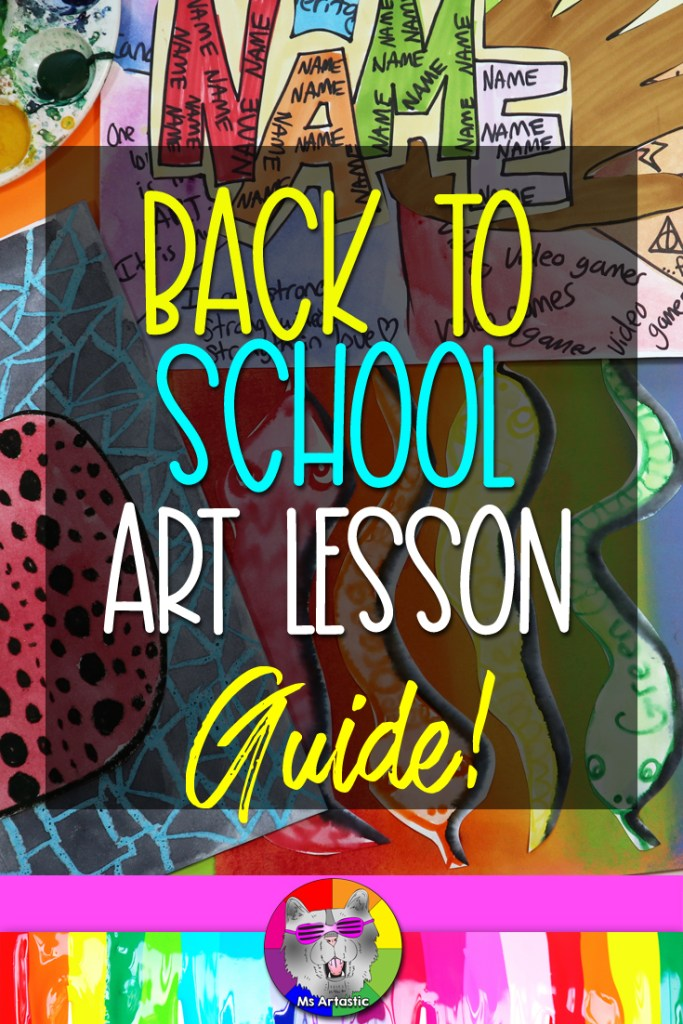 It is Back to School Art Lesson Planning season and I am so excited to share my ULTIMATE Back to School Art Project Ideas & Guide for Engaging Art Lessons for kids from Kindergarten to Middle School with you! These are some HOT new Art Lessons that explore Artists & Art History and a variety of Themes that you can use to help plan your YEAR! There are over 650 Art Resources in the Ms Artastic TpT store now and they will help you facilitate art instruction in your classroom.