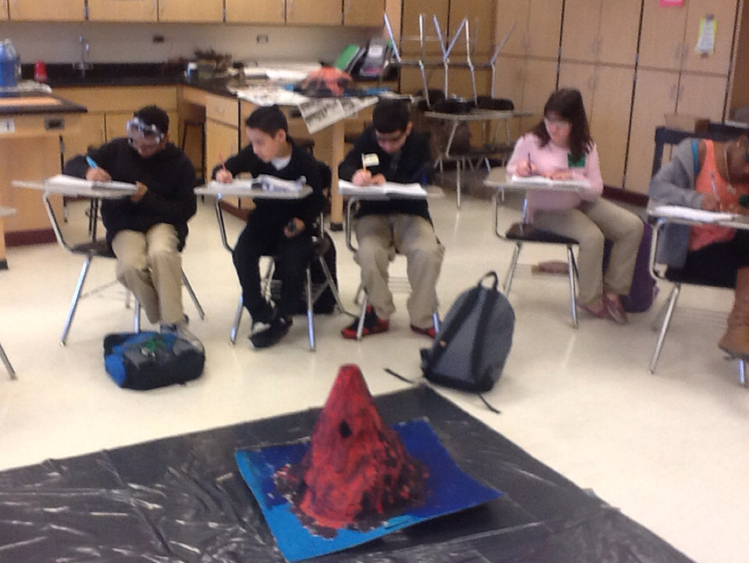 Volcanoes With My 6th Graders