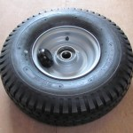 600 X 9 10 Ply Tyre On A 4.00 X 9 Wheel Fitted With 35mm Bearings
