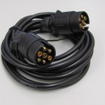 3.5m Trailer Lighting Extension Cable