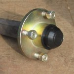 100mm PCD Hub 200 x 35 Stub Axle