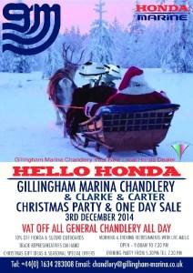 Gillingham Marina Xmas 2014