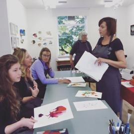 Expressive Inks Master Class With Tracy Fennell Illustration 6