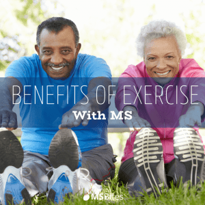 benefits of exercise with MS