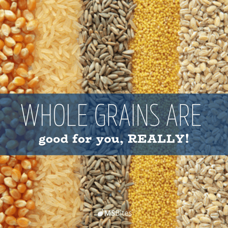 whole grains are good for you really