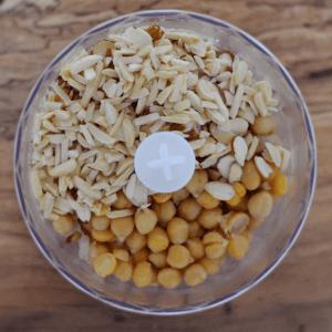 Chickpea Salad Ingredients (Step 1)