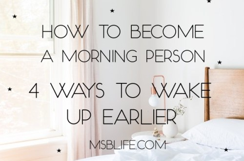 How to Become a Morning Person: 4 Ways to Wake up Earlier Thumbnail