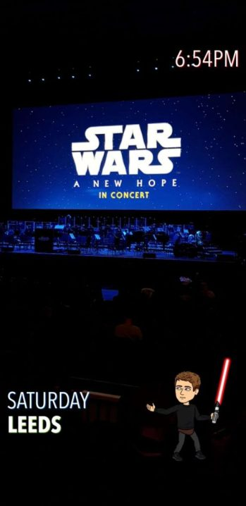 Star Wars: A New Hope Live in Concert Screen and Stage. Time, Date, Location and Bitmoji