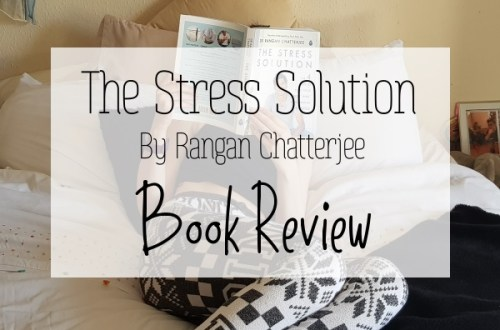 Featured Image Thumbnail Lying on Bed reading The Stress Solution by Dr Rangan Chatterjee