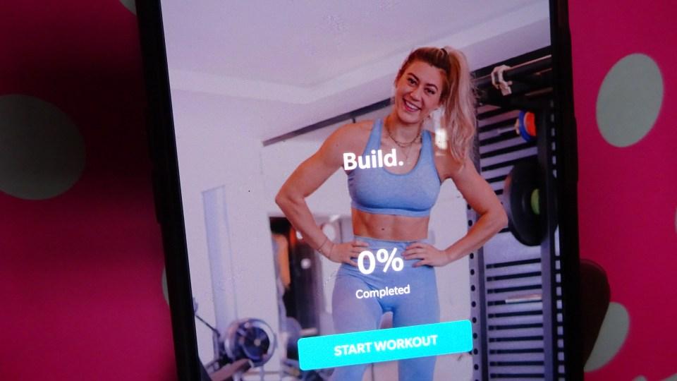 Natacha Oceane's latest fitness guide, BUILD