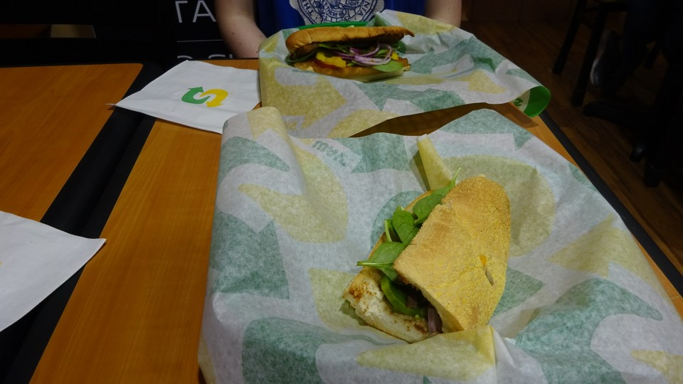 Birthday Vegan Subway