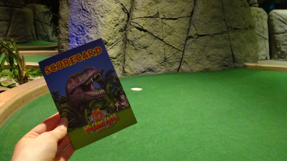 Mini-Golf at XScape