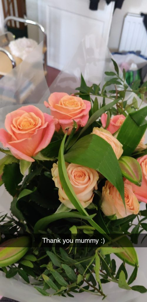 Bunch of birthday flowers