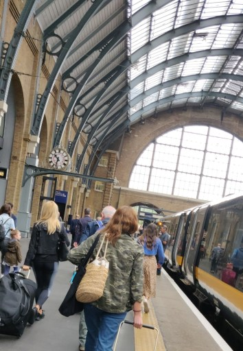 Arriving into London via Kings Cross for the start of my 48 Hours in London
