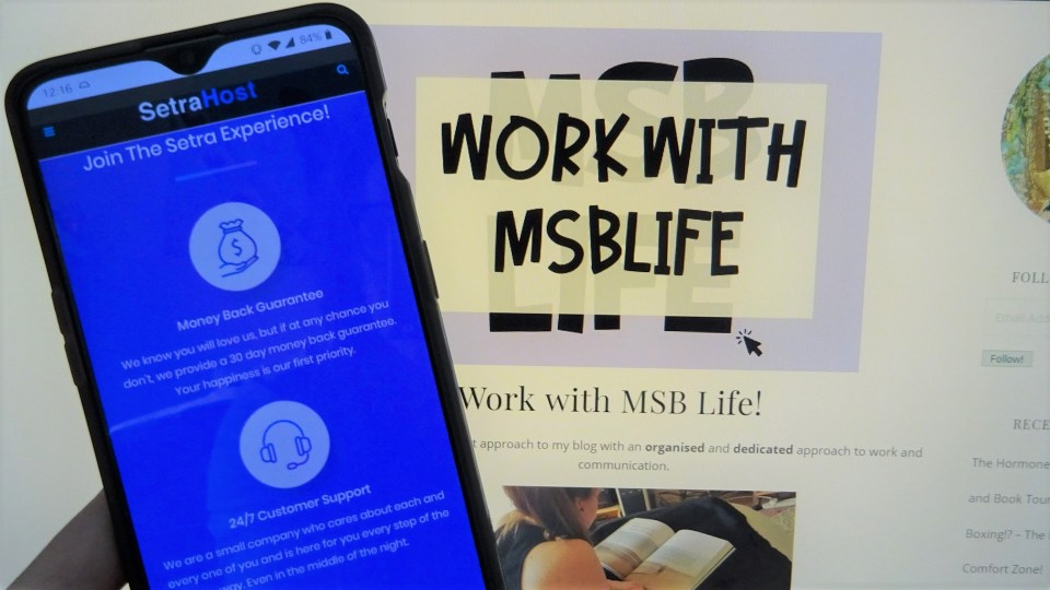 Work with MSBLife and SetraHost on Phone