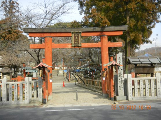 The gate to the temple