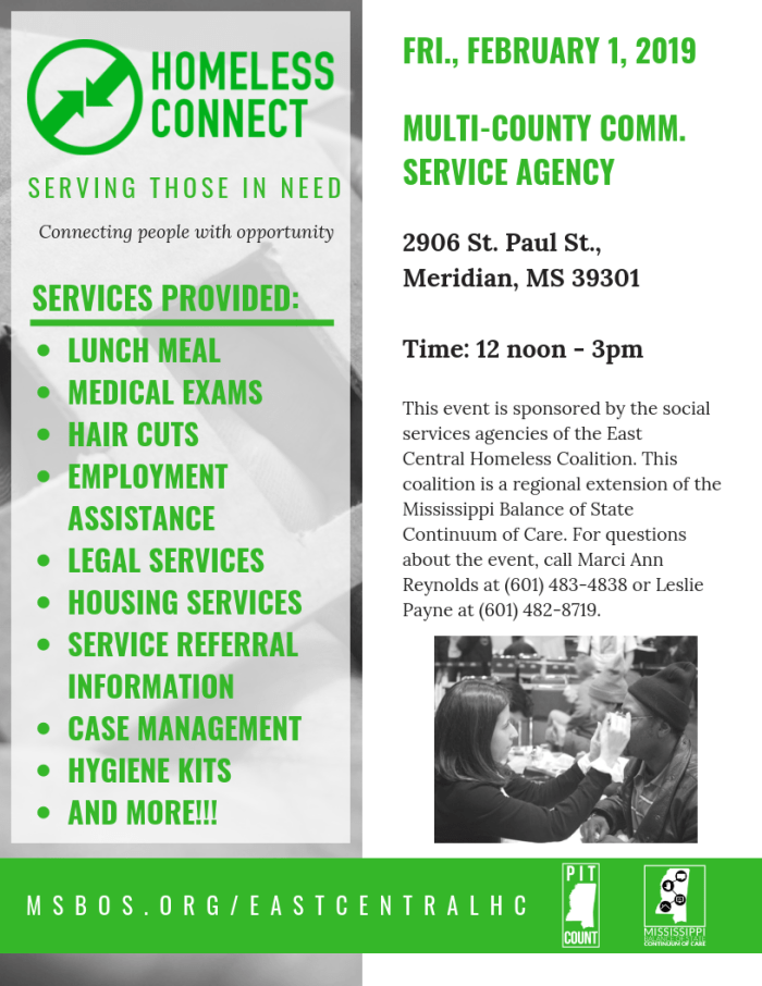 2019 East Central Project Connect - Flyer