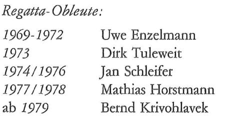 History Regata Obleute