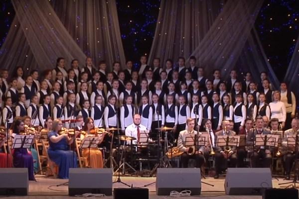 Концерт Театра эстрадной музыки и песни г. Луганска с участием музыкальных школ и школ искусств.