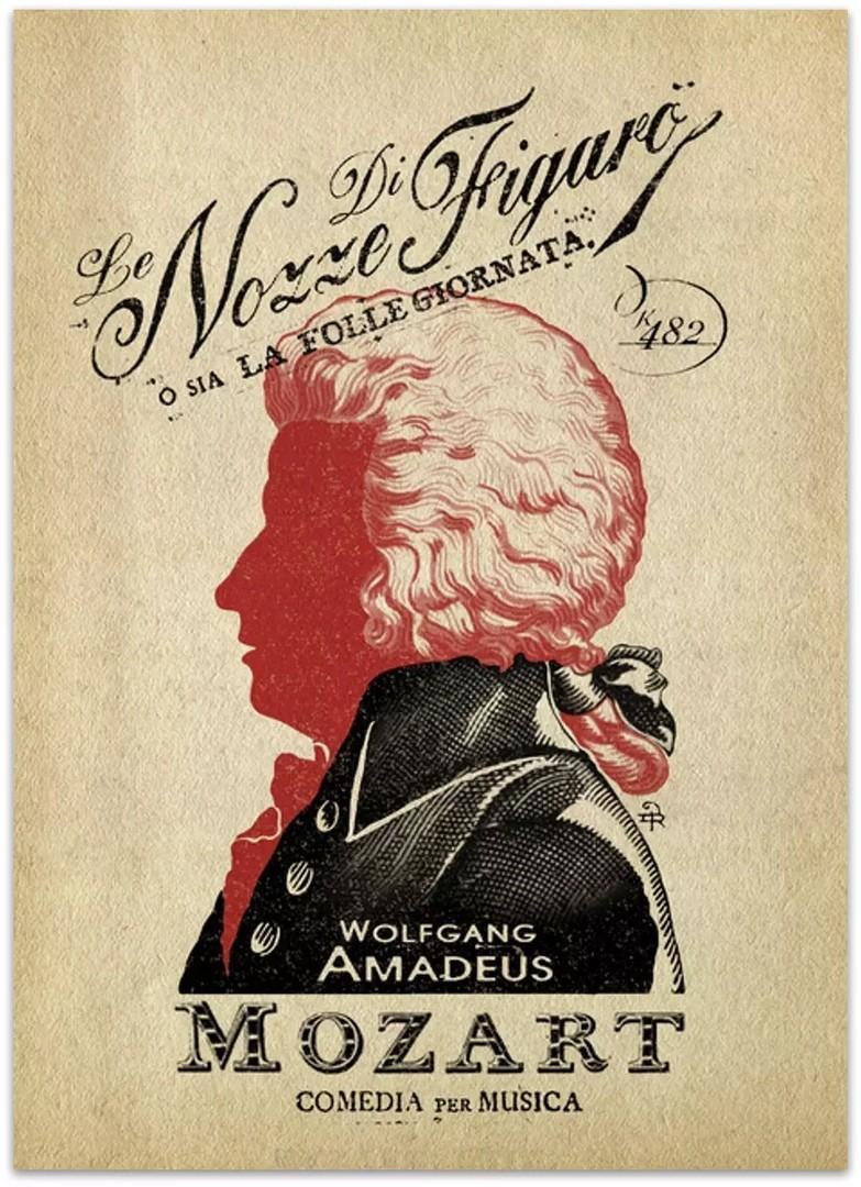 """1 мая. Премьера оперы Вольфганга Амадея Моцарта """"Свадьба Фигаро""""."""