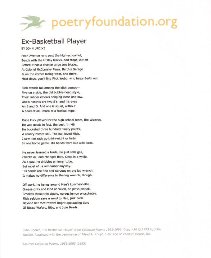 Excellent basketball poems with figurative language | Textpoems.org UM06