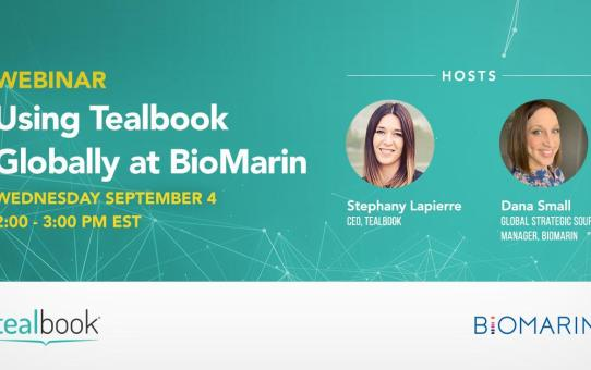 Webinar: The Global Tealbook Rollout - 9.4 at 2pm EST