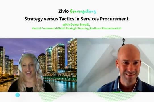 Strategy Versus Tactics in Services Procurement - Zivio Conversations Podcast
