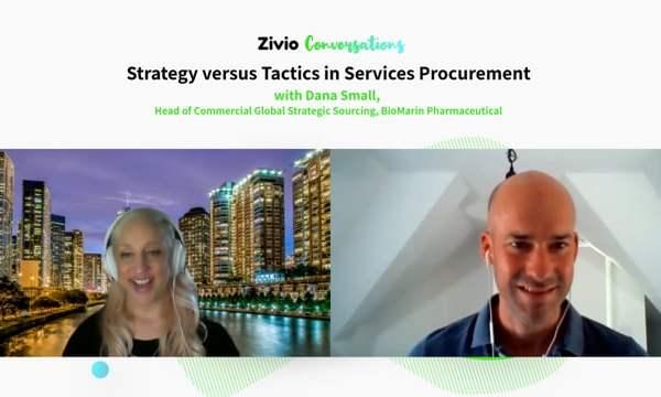Strategy Versus Tactics in Services Procurement – Zivio Conversations Podcast