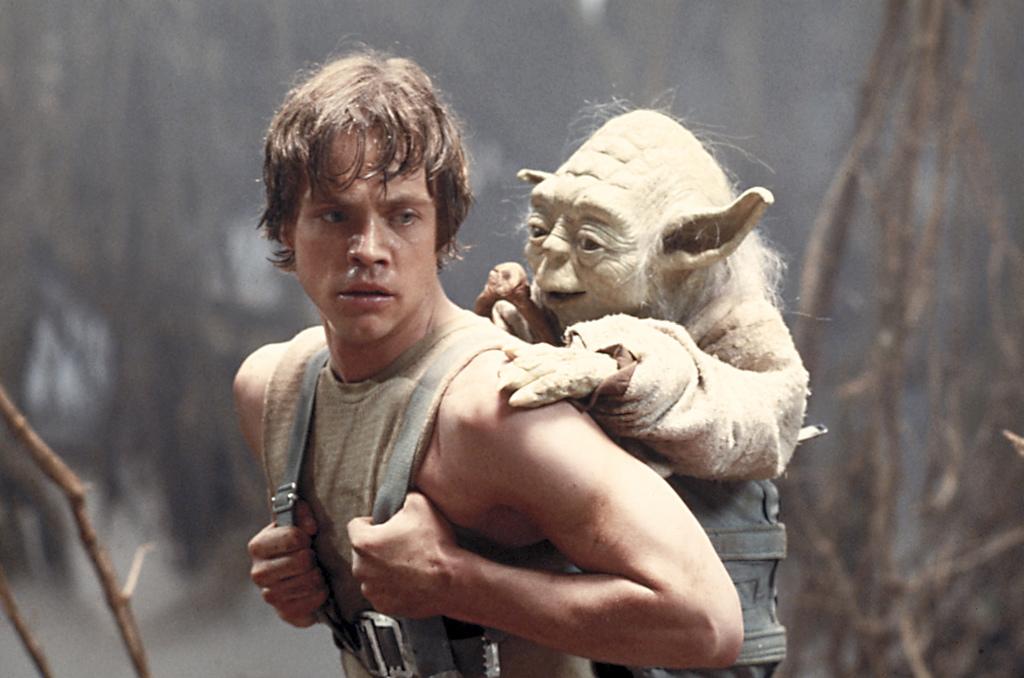 Luke and Yoda