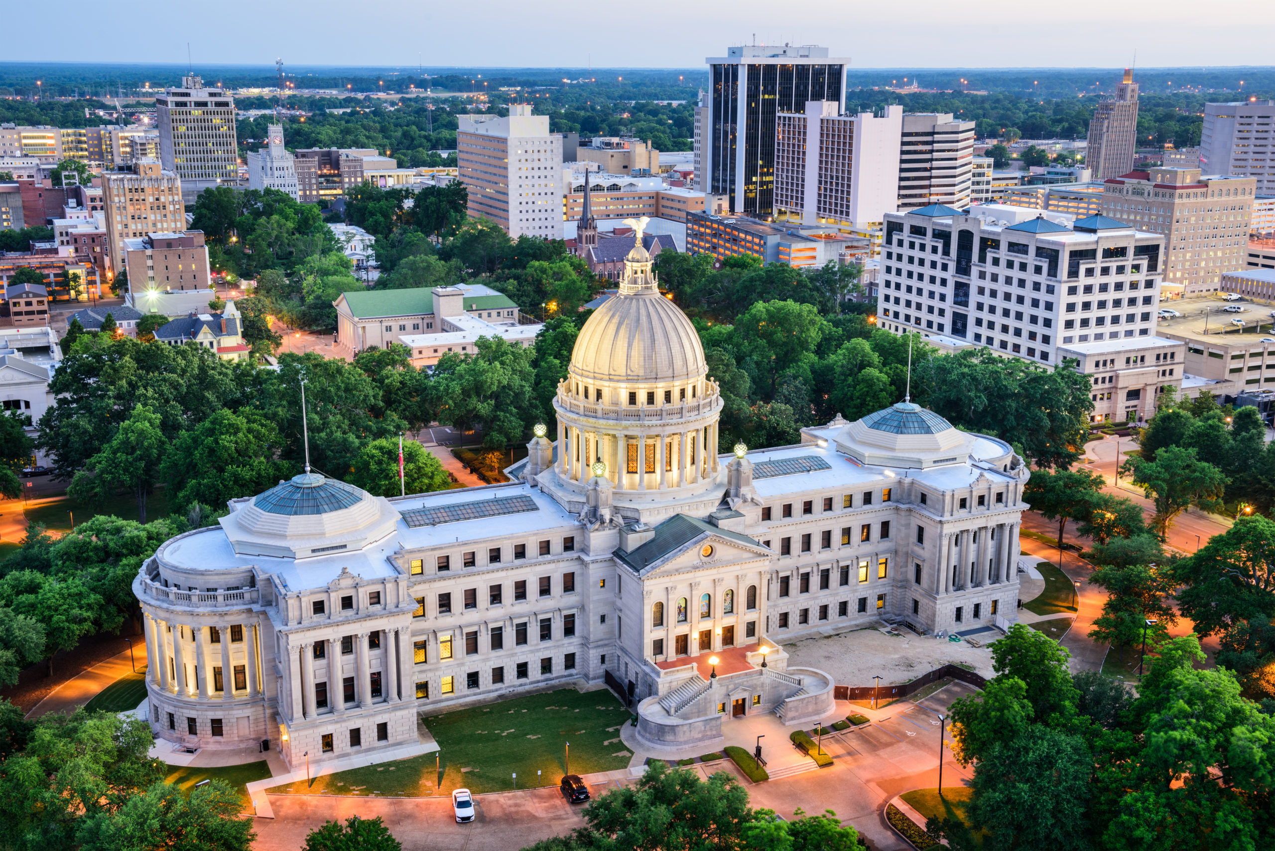 The state capital of Mississippi