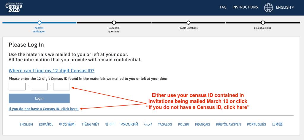 2020 Census Portal