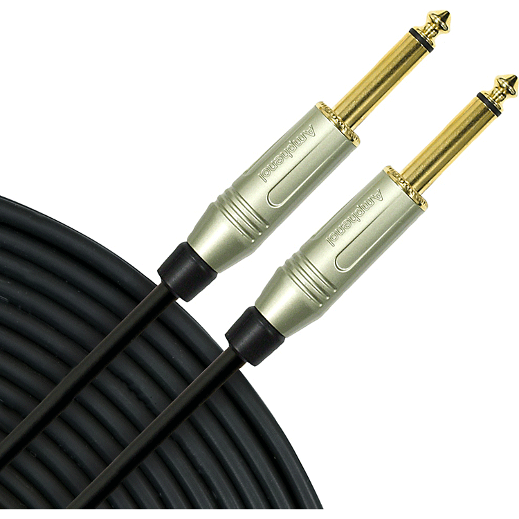 mogami-silver-instrument-cable
