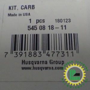 Карбюратор для воздуходувок Husqvarna 125 B / BX / BVX 5450818-11