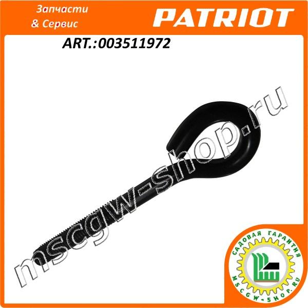 Кронштейн-крепление рычага поворота желоба М8x17x134 мм. PATRIOT 003511972