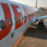 チェジュ航空(関空⇔釜山)搭乗記・東方神起が出迎えてくれました