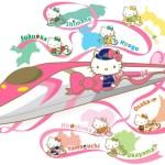 博多で新幹線ふれあいデー開催・関西からはハローキティ新幹線貸切ツアーがお得!