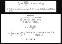 Coulomb S Law Worksheet With Answers - Breadandhearth