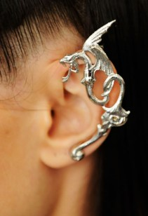 Rodarte Dragon metal ear cuff