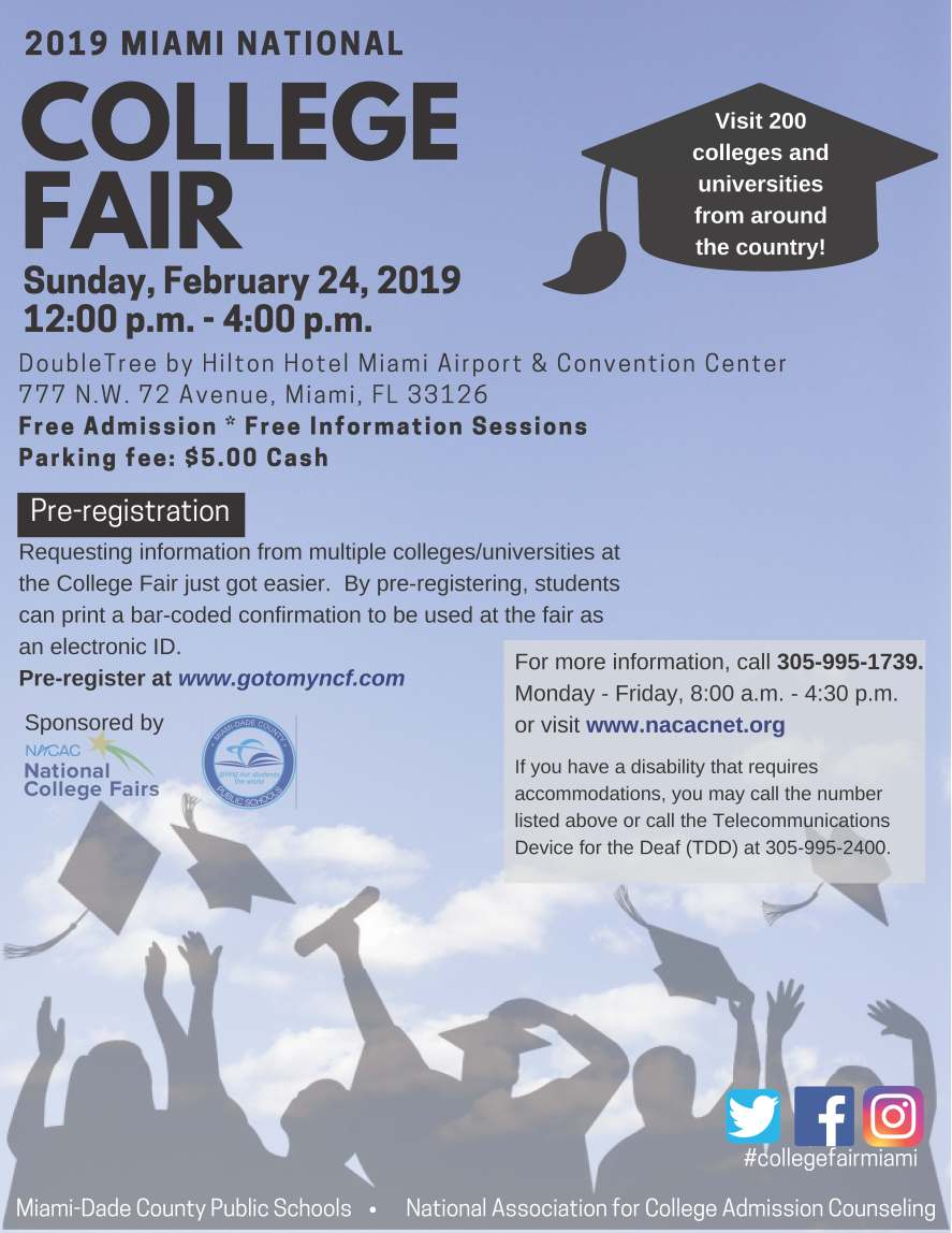 College Fair 2019 English