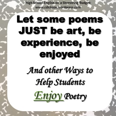 Let Poems be Art