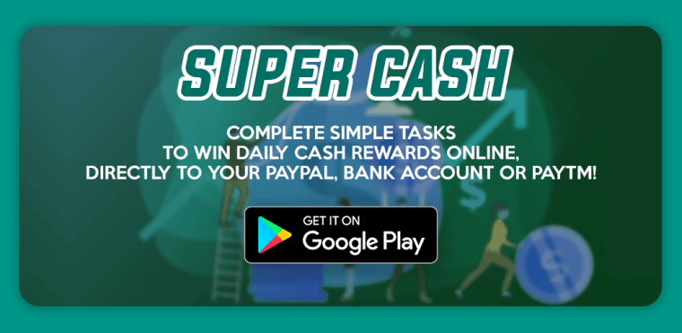 super cash earn rewards app
