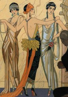 Art Deco Costumes (French). George Barbier. 1924.