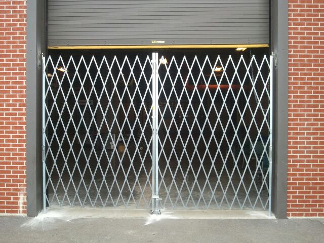 Scissor Security Gates  Overhead Garage Doors by Doorways Inc