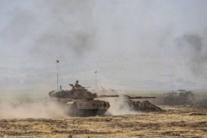 قوات تركية تحكم قبضتها على أجزاء من كردستان العراق