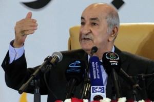 الرئيس الجزائري يعلن عن انتخابات تشريعية مبكّرة